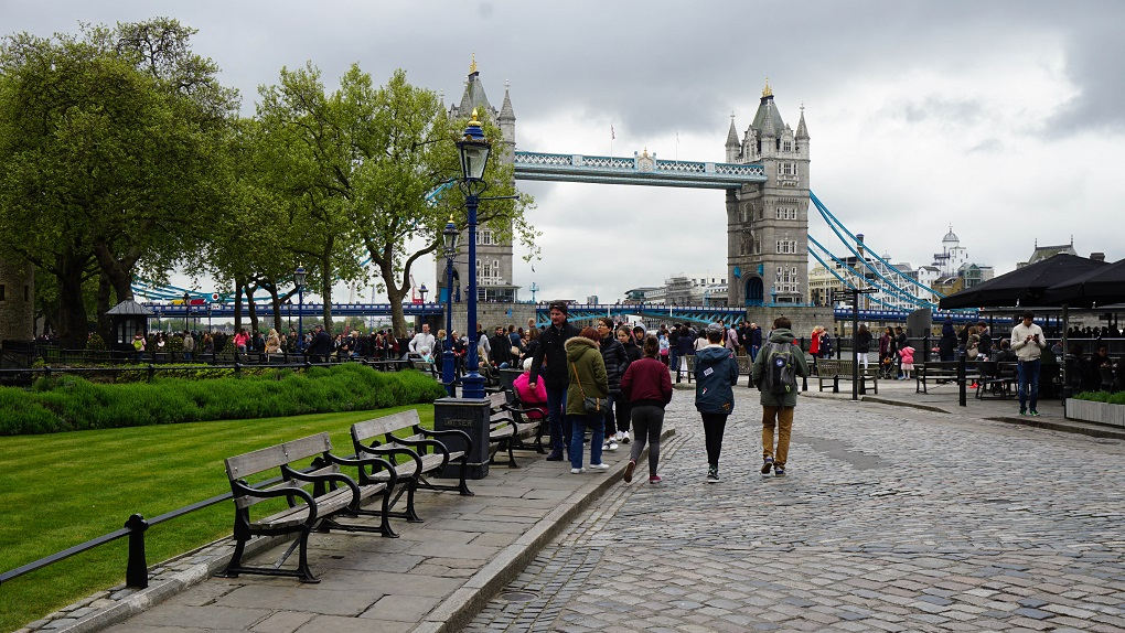 Tower Bridge in Londen