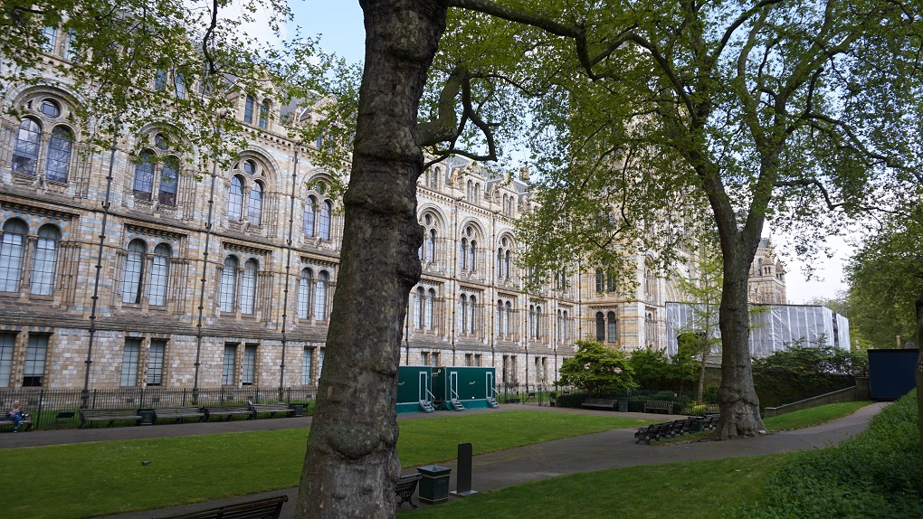 National History Museum in Londen